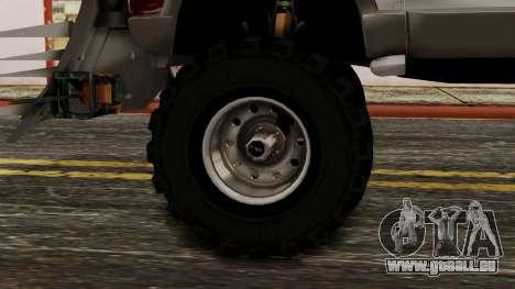 Ford Explorer Zombie Protection pour GTA San Andreas sur la vue arrière gauche