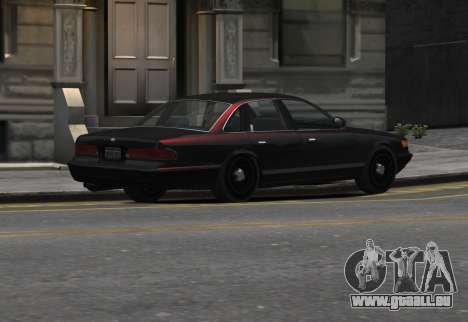 Prototype Crown 1997 Civilian pour GTA 4 est une gauche