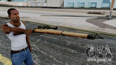 Lee-Enfield No.4 Scope from Battlefield 1942 für GTA San Andreas dritten Screenshot
