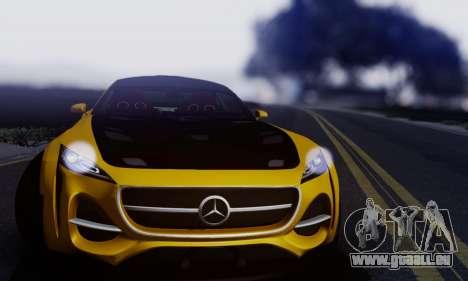 Mercedes-Benz AMG GT pour GTA San Andreas laissé vue