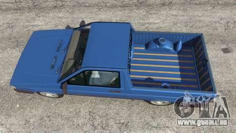 GTA 5 Volkswagen Saveiro 1.6 CLi Rückansicht