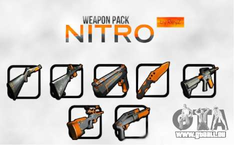 Nitro Weapon Pack pour GTA San Andreas