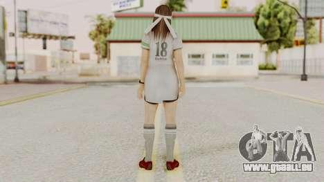 DOA 5 Hitomi Soccer pour GTA San Andreas troisième écran