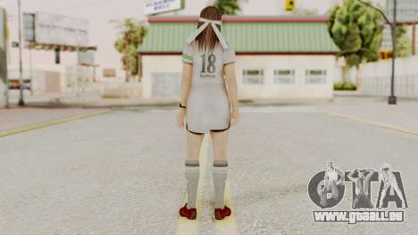 DOA 5 Hitomi Soccer für GTA San Andreas dritten Screenshot