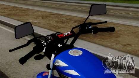 Bera Socialista 2014 pour GTA San Andreas vue arrière