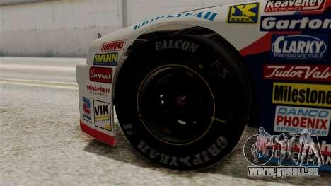 Chevrolet Lumina NASCAR 1992 pour GTA San Andreas sur la vue arrière gauche