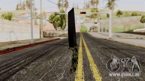 Neue camo Messer für GTA San Andreas