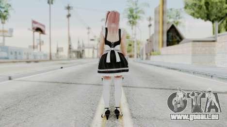 DOA 5 Honoka Maid für GTA San Andreas dritten Screenshot