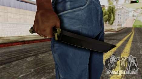 Neue camo Messer für GTA San Andreas dritten Screenshot