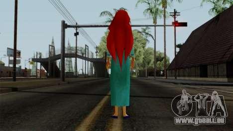 Ariel (Human Version) pour GTA San Andreas troisième écran