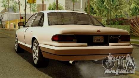 GTA 5 Vapid Stanier I pour GTA San Andreas laissé vue