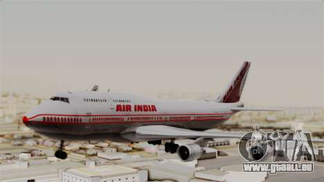 Boeing 747-400 Air India Old pour GTA San Andreas