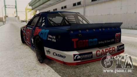 Chevrolet Lumina NASCAR 1992 pour GTA San Andreas laissé vue