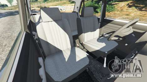 Die VAZ-2105 für GTA 5