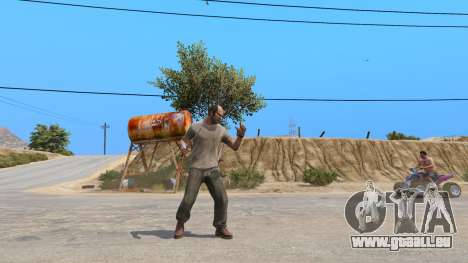 GTA 5 Die Rambo-Messer dritten Screenshot