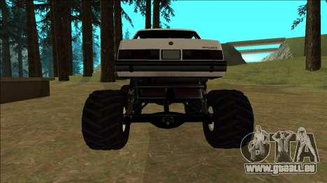 Willard Monster pour GTA San Andreas vue de droite