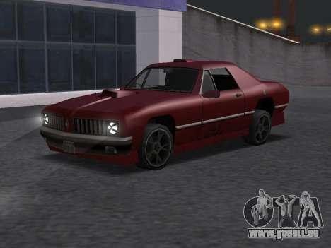 New Stallion pour GTA San Andreas vue de droite
