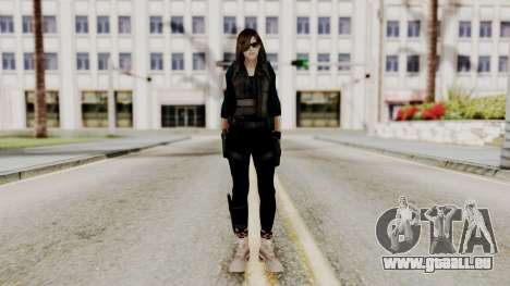 Christy Battle Suit (Resident Evil) für GTA San Andreas zweiten Screenshot
