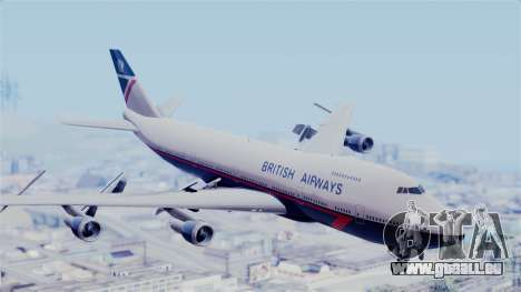 Boeing 747 British Airlines (Landor) pour GTA San Andreas