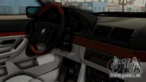 BMW 530D E39 1999 Stock pour GTA San Andreas vue de droite