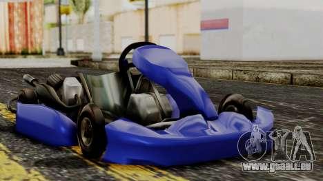 Crash Team Racing Kart für GTA San Andreas