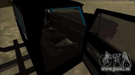 Chevrolet C10 Drift Monster Energy pour GTA San Andreas sur la vue arrière gauche