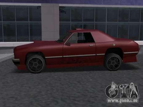 New Stallion für GTA San Andreas Rückansicht