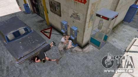 GTA 5 Panneau routier sixième capture d'écran