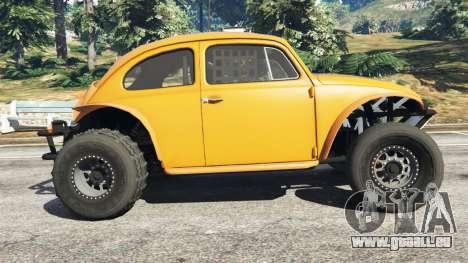 GTA 5 Volkswagen Beetle Baja Bug [Beta] linke Seitenansicht