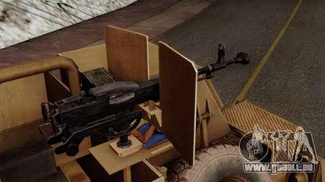 MRAP Buffel from CoD Black Ops 2 für GTA San Andreas rechten Ansicht