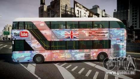 Wrightbus New Routemaster für GTA 4 linke Ansicht