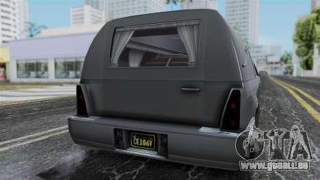 GTA 5 Albany Romero IVF für GTA San Andreas Rückansicht
