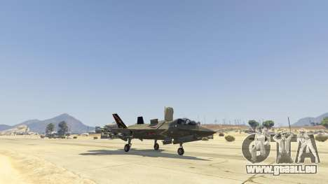 GTA 5 F-35B Lightning II (VTOL) vierten Screenshot