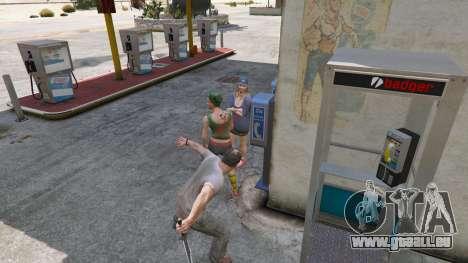 GTA 5 Die Rambo-Messer fünfter Screenshot