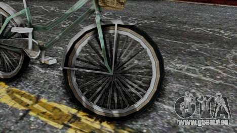 Olad Bike from Bully pour GTA San Andreas vue de droite