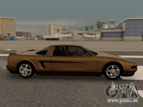 Infernus PFR v1.0 final für GTA San Andreas linke Ansicht