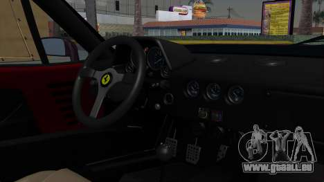 Ferrari F40 1987 with Up Lights IVF für GTA San Andreas rechten Ansicht