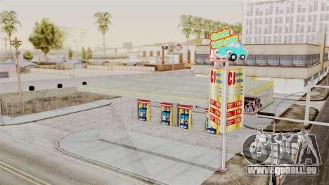 LS CJ Gas v2 pour GTA San Andreas