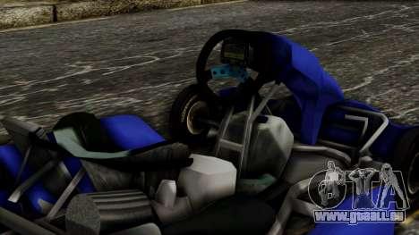 Crash Team Racing Kart für GTA San Andreas rechten Ansicht