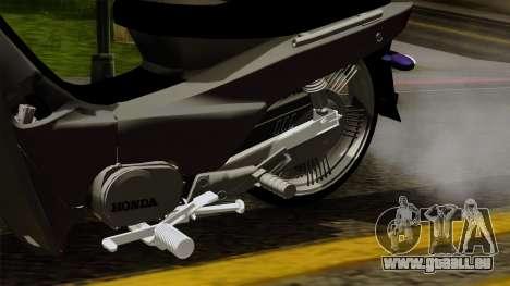 Honda Wave Tuning pour GTA San Andreas vue de droite