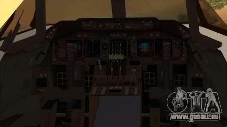 Boeing 747-100 National Airlines für GTA San Andreas Rückansicht