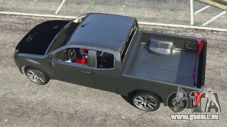 GTA 5 Isuzu D-Max vue arrière
