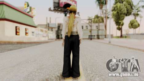 DOA 5 Helena Formal für GTA San Andreas dritten Screenshot