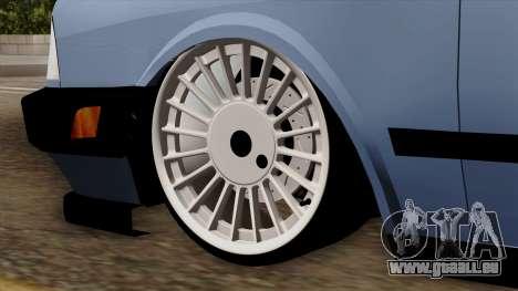 B. O. Tofaş Construction De Qualité pour GTA San Andreas sur la vue arrière gauche
