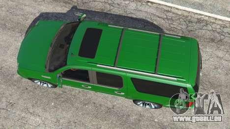 GTA 5 Cadillac Escalade ESV 2012 Rückansicht