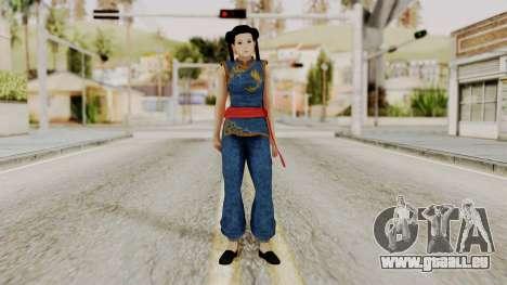 DOA 5 Pai Chan pour GTA San Andreas deuxième écran