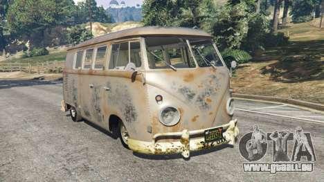 Volkswagen Transporter 1960 rusty [Beta] pour GTA 5