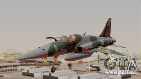 Northrop F-5E Tiger II Texture FAB pour GTA San Andreas