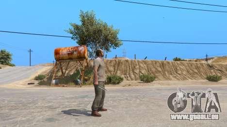 GTA 5 Le Couteau De Rambo deuxième capture d'écran