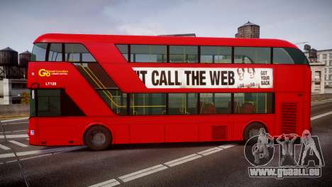Wrightbus New Routemaster Go Ahead London pour GTA 4 est une gauche